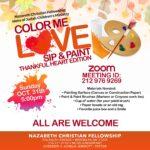 Sip&Paint October